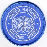 United Nation Embroidery Patches - Custom Made UN Shoulder Patch