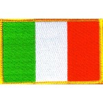 Embroidered Irish Flags Badges Ireland Patches