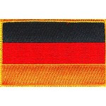 Flag Embroidered Patch German Iron-On National Emblem