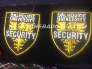 production picture bullion wire patches