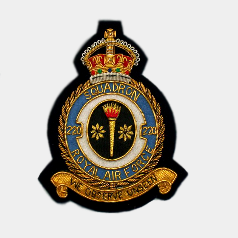 220 Squadron Blazer Badge - Royal Air Force ( RAF ) Canadian Patches