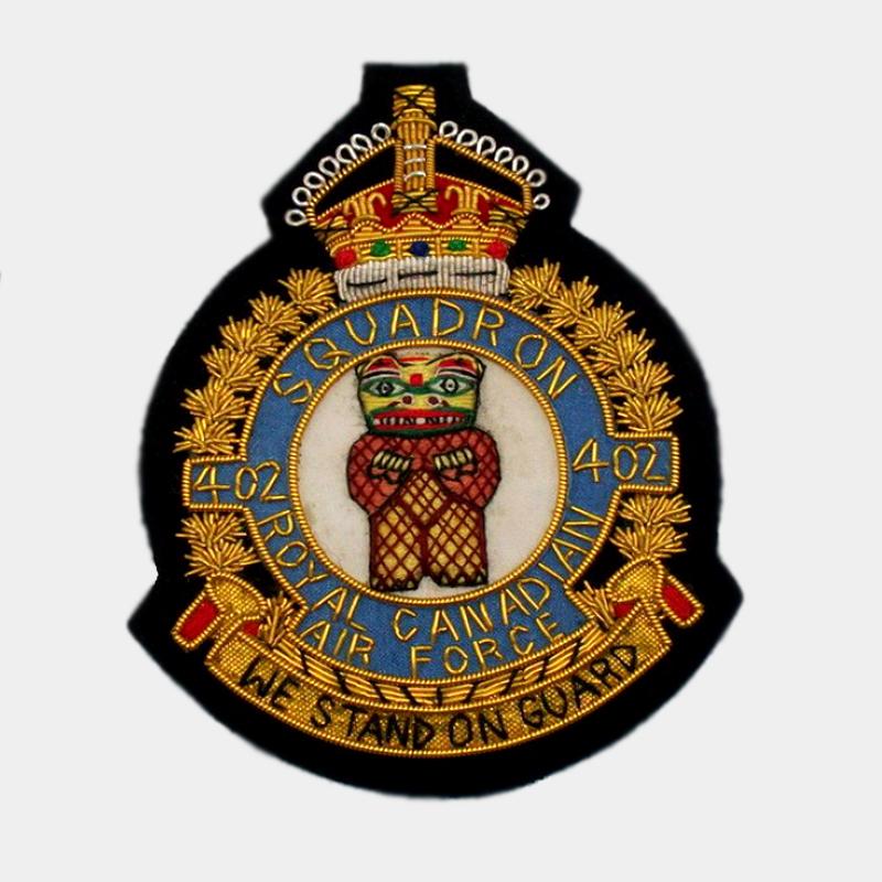 402 Squadron Blazer badges