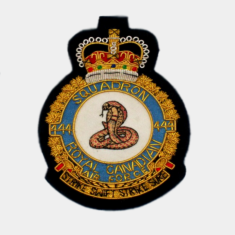 444 Combat Support Squadron Blazer Badge - Royal Air Force ( RAF )