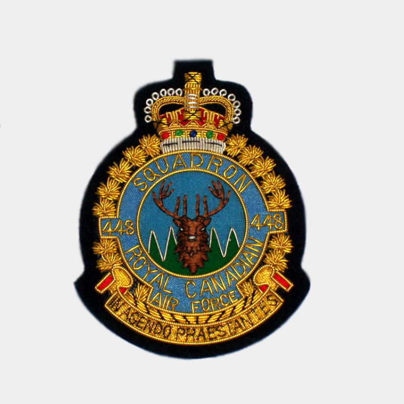 448 Squadron Blazer Badge - Royal Air Force ( RAF ) Canadian Patches