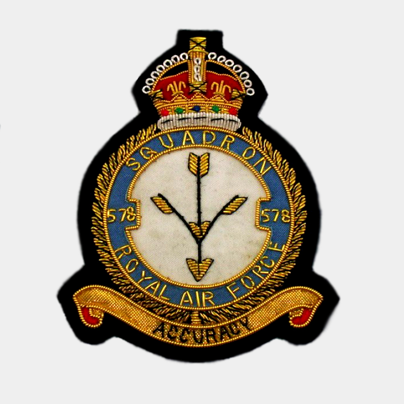 578 Squadron Blazer Badge - Royal Air Force ( RAF )