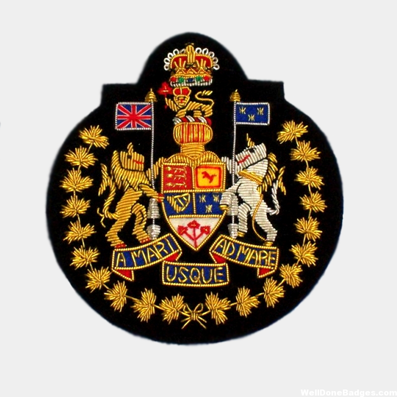 Canadian Forces Chief Warrant Officer Blazer badges