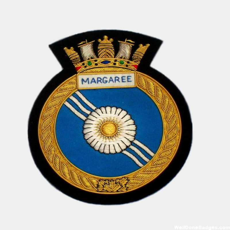 Canadian Navy ship – HMCS Margaree Blazer Badge