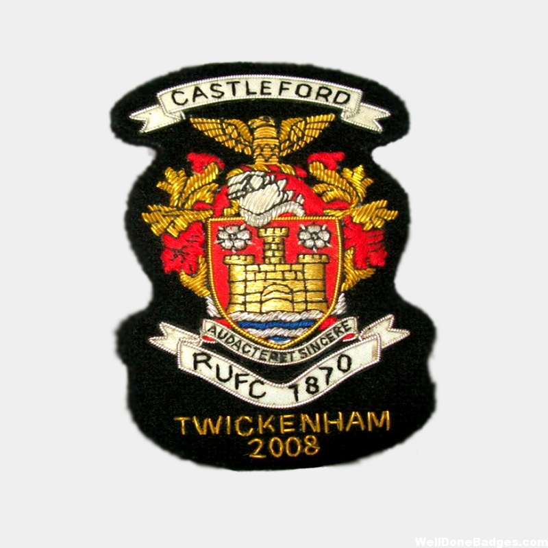 CASTLEFORD COAT OF ARMS – Blazer Badges