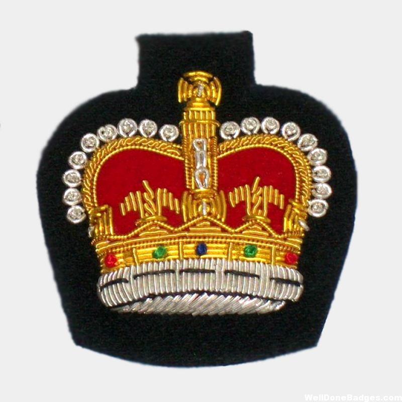 Crown Blazer badges