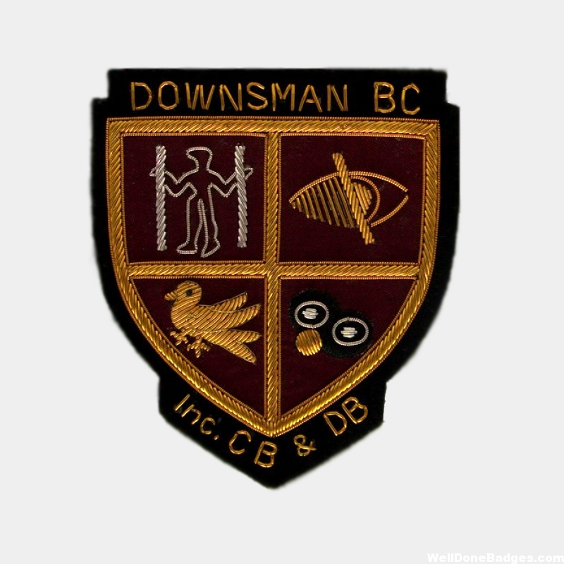 Bowls Clubs Blazer Badges