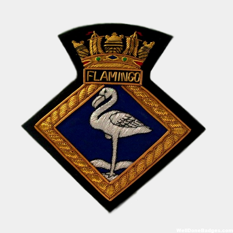 Flamingo South Africa Army Officer Blazer badges