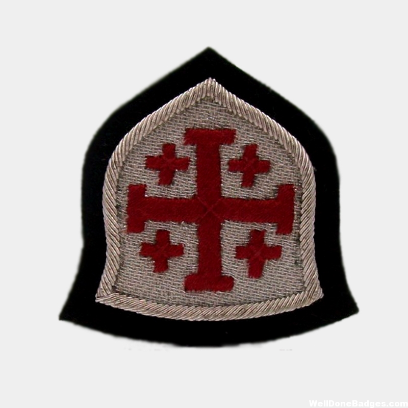 Holy Sepulchre of Jerusalem Blazer badge