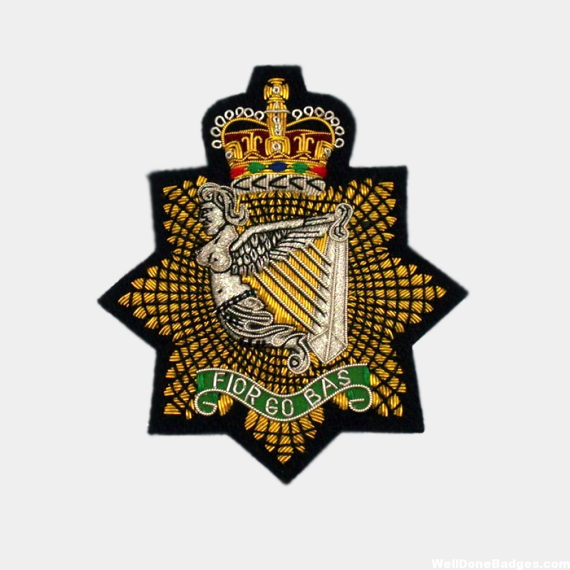 The Royal Irish Regiment Blazer Badges