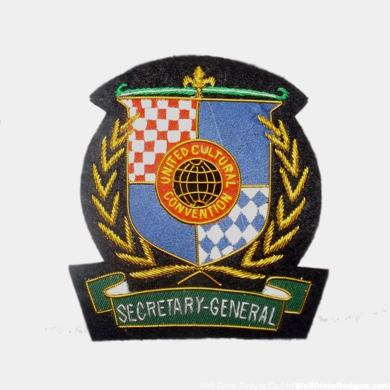 United cultural convention secretary General Blazer Badge