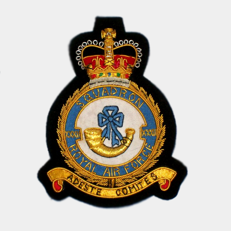 XXXII Squadron Royal Air Force Badge RAF patches