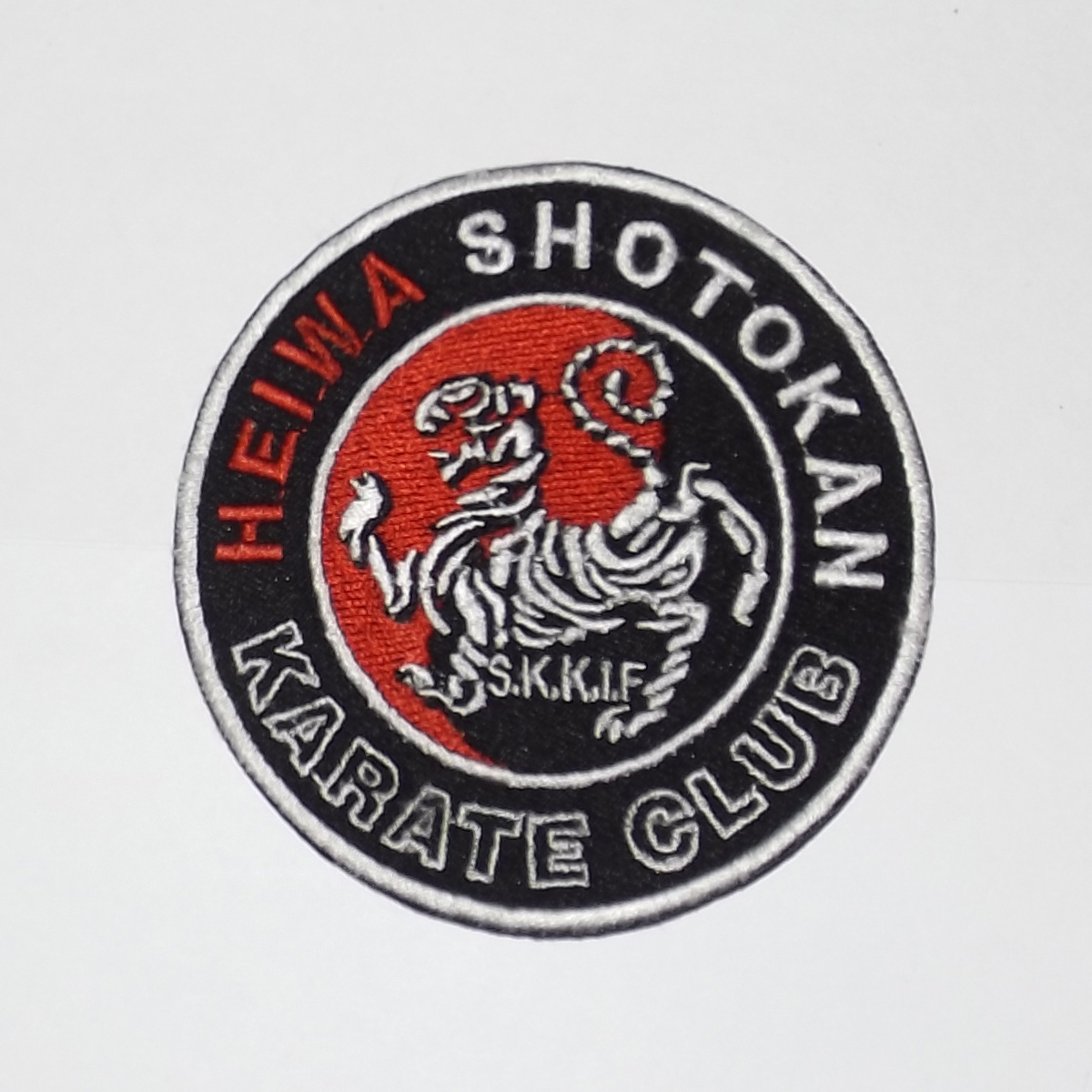 Custom Martial Arts Patches - Quality Embroidered Badges