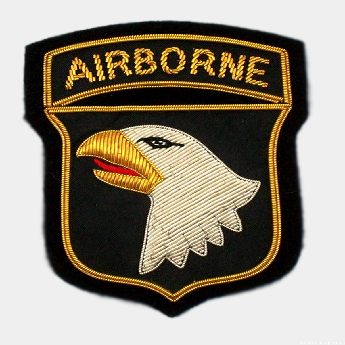 AIRBORNE DIVISION UNIFORM PATCHES