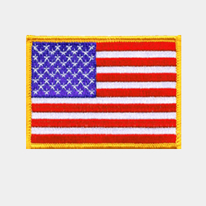Flags Embroidered Patches